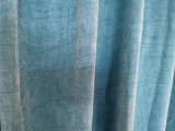 2020 New Chenille Curtain Fabric with Silver Ribbon Like Stars