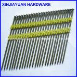 Electro Galvanized Plastic Strip Iron Nail 2.90*75mm