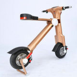 250W 22.5kg Two Wheel Golden Folding Travel Mobility Scooter