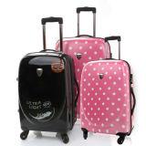 """100% PC Trolley Case, Pure PC Zipper Luggage (PCU-20""""24""""28"""")"""