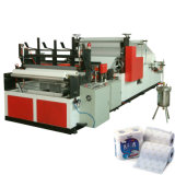Fully Automatic Glue Laminating and Rewinding Kitchen Towel Paper Making Machine