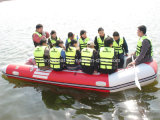 Liya 3.8m-6.5m Inflatable Foldable PVC or Hypalon Fast Rescue Boat