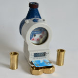 RF Card Prepaid Smart Water Meter with Replaceable Battery