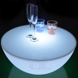 Coffee Table with LED Lighting Cafe Table LED Glowing