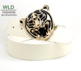 New Style Fashion Tiger Buckle PU Belt Ky5986
