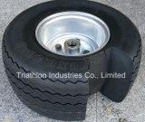 18X 8.50-8 Smooth Flat Free Solid Foam Golf Car Wheel