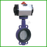 Wafer Type Pneumatic Butterfly Valve-Resilient Seat Wafer Butterfly Valve