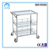 CE ISO Approved Stainless Steel Medical Trolley