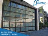 Sectioanl Transparent Door/Sectional Glass Door/Transparent Sectional Overhead Garage Door/High Quality Overhead Glass Garage Door