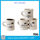 Popular Funny Dog Ceramic Diner Coffee Cup
