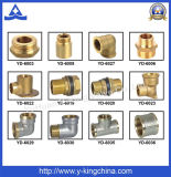 """1/2"""" Male Extension Connector Brass Fitting (YD-6011)"""
