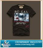 Vintage Washed Men Printing Casual T-Shirt