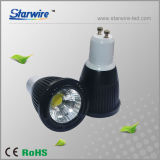 Super Bright MR16/ GU10/ E27 7W COB LED Spot Light with CRI Over 80ra