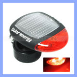2 LEDs Solar Energy Bicycle Rear Bike Tail LED Light for Mountain