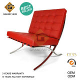 Red Leather Barcelona Meeting Chair (GV-BC02)