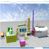 Tyre Pyrolysis Oil Plant Recycling Tyre Waste 10ton Per Day