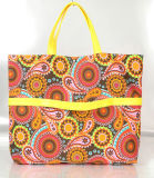 Shopping Bag/ Lady Handbags with Printed Canvas