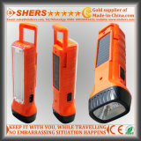 Solar Energy 1W LED Torch with Desk Lamp for Searching (SH-1939)