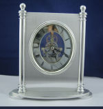 Conda Modern Quartz Skeleton Desk Clock