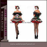 Sexy Women Adult Dia De Los Beauty Costume (TG5288)