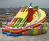 Giant Curve Inflatable Slide for Amusement Park