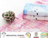 100% Cotton Baby Yarn Dyed Jacuqard Towel