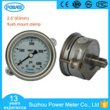 63mm Stainless Steel Pressure Gauge 3000psi 1/4NPT