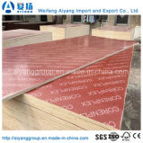 Hardwood Core Red Film Faced Plywood with Logo for Construction