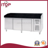 Air-Cooled Stainless Steel Refrigerated Counters for Pizza (ZA3600TN, ZA3600TN-VPX380)