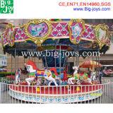 Fairground Merry Go Round Carousel for Sale (BJ-KY27)