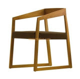 (SD-1005) Restaurant Furniture Wooden Dining Chair with Fabric Seat