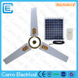 Solar DC Ceiling Fan with Solar Panel and LED