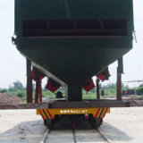 Metal Industry Use Railroad Transfer Car for Heavy Cargo on Rails