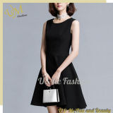 Luxury Black Dress for Girls Clothing Supplier China