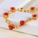 Fashion 18k Gold Cubic Zircon Nickle Free Bracelet Jewelry