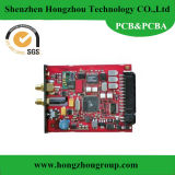 Single Side& Double Side PCB with Red Solder Mask