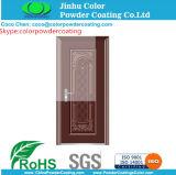 Security Door Sublimation Print Wood Finish Polyester Powder Coating Powder Paint