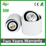 360 Degree Rotable 5W COB Surface Mounted LED Downlight