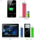 2014 Unique Lip 2600mAh Portable Mobile Power Bank