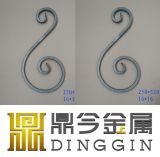 Simple Wrought Iron Scrolls Decoration