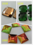 Decorative Square Fancy Glass Rhinestones Beads