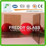5.6mmbronze Woven Patterned Glass/ Furniture Glass/ Window Glass