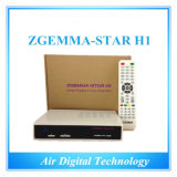 Satellite Receiver No Dish Zgemma Star H1 with Twin Tuner Dvbs2 Dvbc IPTV Set Top Box