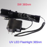 UV LED Torch 365-395nm LED Torch 3W