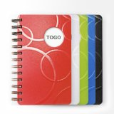 Hard Cover PU Notebook with Elastic Band Spiral Notebook B5