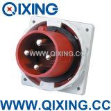 Qixing European Standard Male Panel Mounted Plug (QX3656)