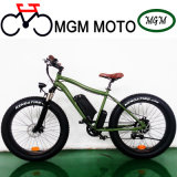 Retro Beach Cruiser 26′ Fat Tire Electric Mountain Bike
