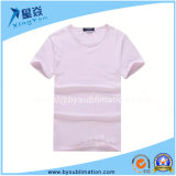 Pink Color Sublimation Round Neck Tshirt for Sale
