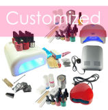 UV Gel Nails Kit with LED Lamp