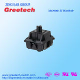Zing Ear Mechanical Keyboard Switch-4mm Travel with Black Key Stem